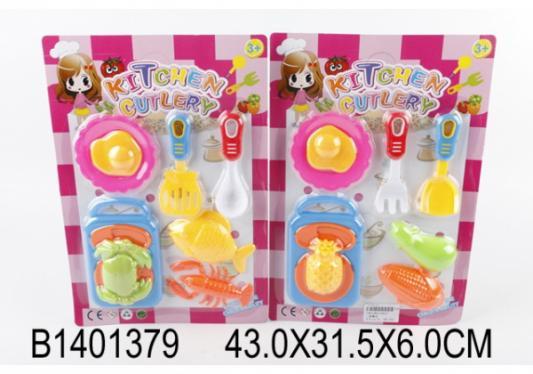 Набор посуды и продуктов Shantou Gepai Kitchen Cutlery пластик набор продуктов shantou gepai пицца y5155422