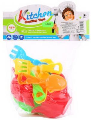 Купить Набор посуды Shantou Gepai Kitchen пластик, разноцветный, Игрушечная посуда