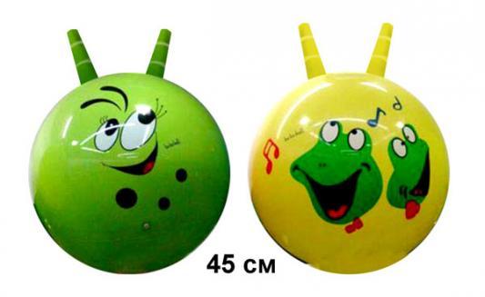 Мяч-попрыгун Shantou Мяч - прыгунок с рожками цвет в ассортименте ПВХ мяч попрыгун z sports с рожками 65 см