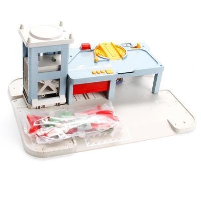 Купить Пожарная станция Shantou Gepai 5513-97 красный B742732, Игрушечные машинки