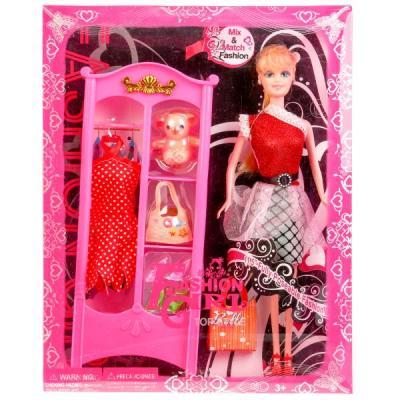 Кукла Shantou Кукла, 29 см с аксессуарами 29 см кукла yako m6579 6