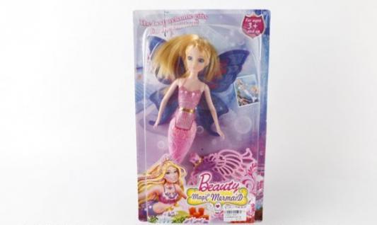 Купить Кукла Shantou КУКЛА-РУСАЛКА 888-1 29 см, пластмасса, Классические куклы и пупсы