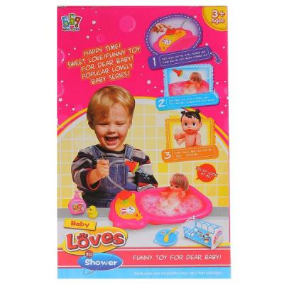 Кукла Shantou Кукла функциональная с аксессуарами кукла baby doll с аксессуарами b553177