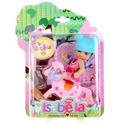 Купить Игровой набор Shantou Кукла с качалкой-лошадкой, пластмасса, Классические куклы и пупсы