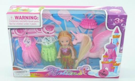 Купить Игровой набор Shantou Кукла с лошадью, пластмасса, Классические куклы и пупсы
