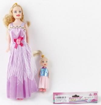 Купить НАБОР ИЗ 2-Х КУКОЛ 29СМ (МАМА+ДОЧКА) В АССОРТ. В ПАК. 28СМ в кор.4*105наб, Shantou, Классические куклы и пупсы
