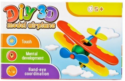купить Конструктор 3D Shantou Самолёт