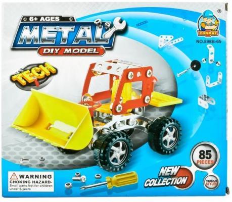 Купить Конструктор Shantou Трактор 85 элементов, Пластмассовые конструкторы