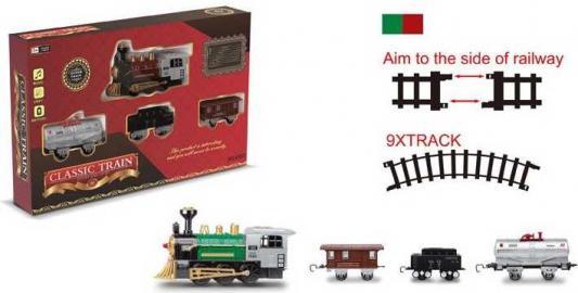 Железная дорога Shantou Classic Train с 3-х лет 1710B264 железная дорога shantou железная дорога jhx6608 с 3 х лет b1606589