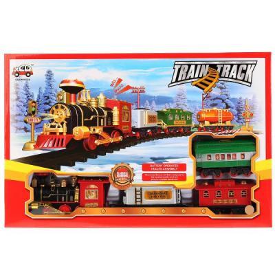 Железная дорога Shantou Train Track 13789 с 3-х лет 1803B268 железная дорога shantou железная дорога jhx6608 с 3 х лет b1606589