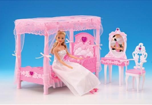 Набор мебели Shantou Набор мебели для кукол Спальня, с аксессуарами