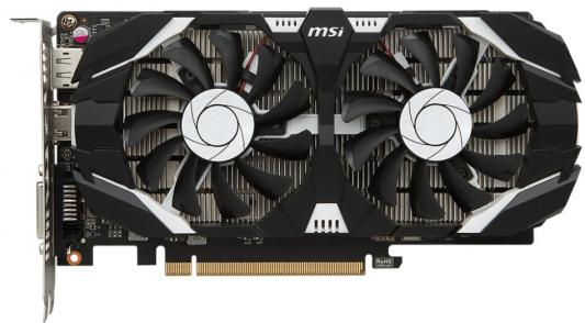 Видеокарта 4Gb <PCI-E> MSI GeForce GTX 1050 Ti 4GT OCV1 <GTX1050Ti, GDDR5, 128bit, HDCP, DP, DVI, HDMI, Retail>
