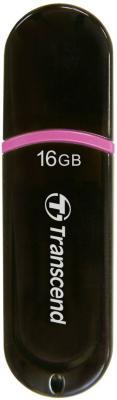 Внешний накопитель 16GB USB Drive <USB 2.0> Transcend 300 TS16GJF300 накопитель 16gb team t134 drive green 765441012929 tt13416gg01