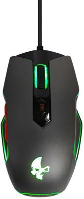 Проводная игровая мышь Jet.A SHADOW JA-GH28 графитовая (1000-2500 dpi,7 пр.кнопок,LED-подсветка,USB)