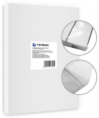 Пленка для ламинирования ГЕЛЕОС, А3, (303х426 мм), (60 мик), 100 шт. пленка для ламинирования office kit 100 мик а3 100 шт глянцевая 303х426 plp10630