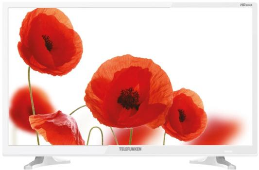 Телевизор LED 24 TELEFUNKEN TF-LED24S71T2 белый/HD Ready/DVBT-2/HDMI/USB led телевизор telefunken tf led24s40t2 белый