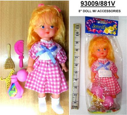 КУКЛА В ПАК. 20СМ в кор.6*48шт кукла yako m6579 6