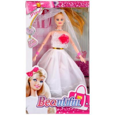 Купить Кукла-невеста 29см в кор. в кор.2*60шт, Shantou, Классические куклы и пупсы