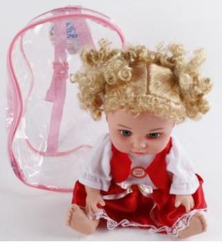 Купить Кукла Shantou B1370857 со звуком, пластик, текстиль, Интерактивные куклы