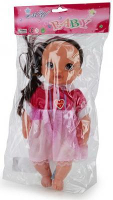 Купить Кукла Shantou Baby 28 см со звуком в ассортименте, пластик, текстиль, Интерактивные куклы