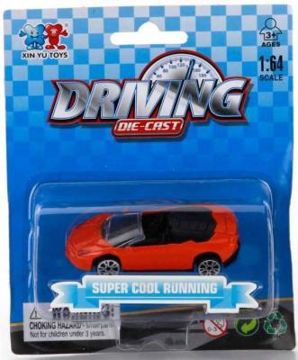 Автомобиль Shantou Gepai МАШИНА 1:64 цвет в ассортименте 1512I042 автомобиль autotime chevrolet camaro 1 64 цвет в ассортименте в ассортименте 49941