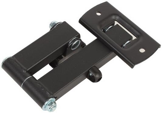 Кронштейн Tuarex ALTA-104 black, настенный для TV 10-32, поворот 180, наклон +5-15, от стены 59-280мм, макс 15кг, VESA 100x100