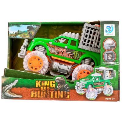 Купить Инерционная машинка Shantou Gepai 9911-91 зеленый 1709A325, Детские модели машинок