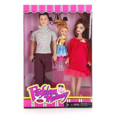 Набор кукол Shantou Fashion Mommy - Семья 29 см в ассортименте