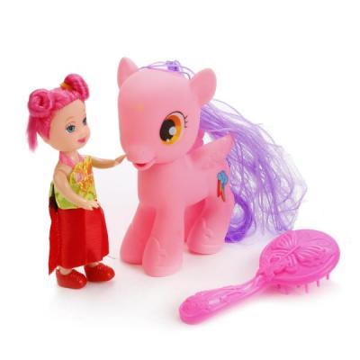Игровой набор Shantou Пони с куклой в ассортименте цена