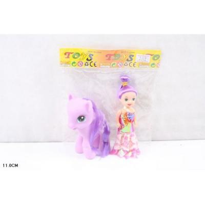 Игровой набор Shantou Пони с куклой 11 см в ассортименте