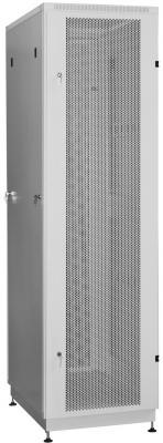 """Шкаф 19"""" напольный 18U 600x800, дверь перфорированная, серый, 3ч, NT PRACTIC2 MP18-68 G"""
