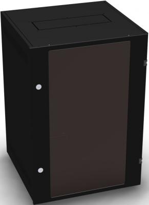 Шкаф 19 напольный 24U 600x800, дверь со стеклом, чёрный, 4ч, NT BASIC MG24-68 B сетка для бадминтона со стойками torneo nt 100t