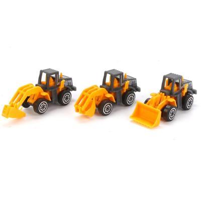 Купить Спецтехника Shantou Gepai 92104 оранжевый 3 шт B672122, Игрушечные машинки