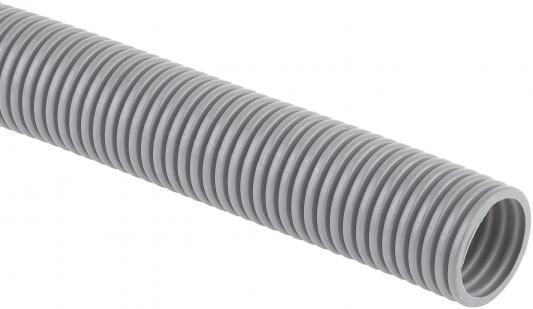 Dkc 9191650 Труба ПВХ гибкая гофр. д.16 мм , лёгкая с протяжкой, 50м, цвет серый