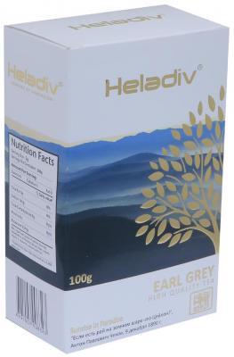 Чай черный HELADIV Earl Grey Pekoe 100 гр. цитрус бергамот черный гречневый чай органический горький гречишный чай здравоохранение травяной чай высшего качества чай травяной чай