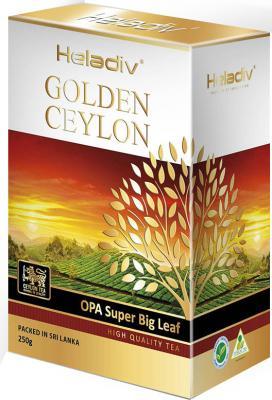 Чай черный HELADIV Opa Super Big Leaf 250 гр. heladiv golden ceylon super pekoe