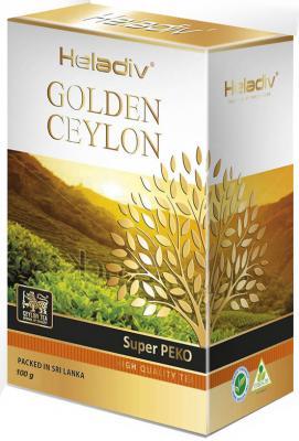 Чай черный HELADIV Super Pekoe 100 гр. heladiv golden ceylon super pekoe