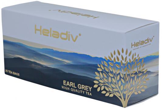 Чай черный HELADIV Earl Grey 50 гр. цитрус бергамот jaf tea earl grey classic чай черный в пакетиках 25 шт