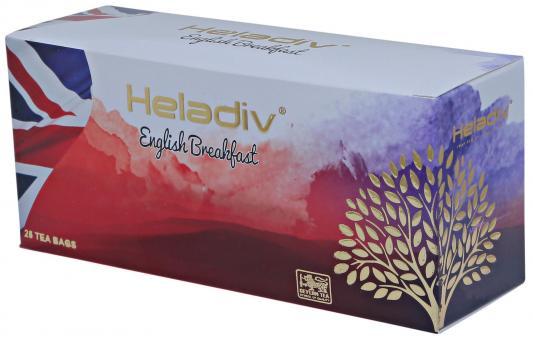 Чай черный HELADIV English Breakfast 50 гр. мин бутона всего завод гречневого чай сычуань liangshan черных гречневый чай канистра классического 160г