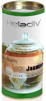 Чай зеленый HELADIV GT Round P.T. 100 гр. жасмин c lc006 100g 100% естественный самый свежий чай цветка жасмина органический зеленый чай здравствулте