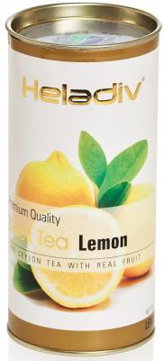Чай черный HELADIV Round P.T. 100 гр. лимон календула