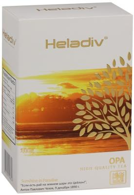 Чай черный HELADIV Opa 100 гр. чай черный байховый бонтон чудесный цейлонский крупнолистовой 731 100 г