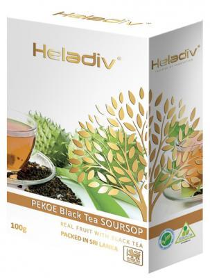 купить Чай черный HELADIV Pekoe 100 гр. саусеп недорого