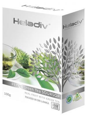 Чай зеленый HELADIV Pekoe 100 гр. саусеп heladiv green tea pekoe чай зеленый листовой 200 г