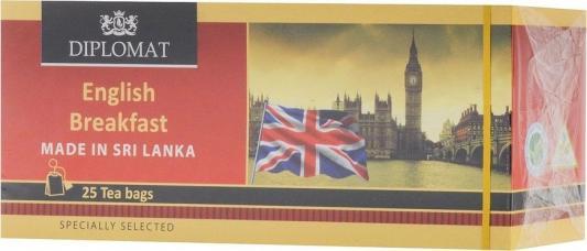 Картинка для Чай черный HELADIV Diplomat English Breakfast 50 гр. цветочный медовый