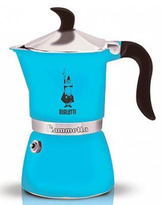 Кофеварка гейзерная Bialetti Fiametta 3 порции алюминий 4632 гейзерная кофеварка bialetti fiametta 5352 фиолетовый