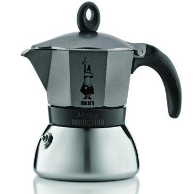 Кофеварка гейзерная Bialetti Moka Induzione 3 порции сталь 4822
