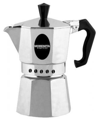 Кофеварка гейзерная Bialetti Morenita 6 порций алюминий 5973 цена и фото