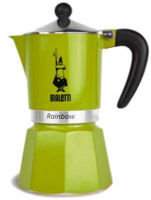 Кофеварка гейзерная Bialetti Rainbow 3 порции алюминий 4972