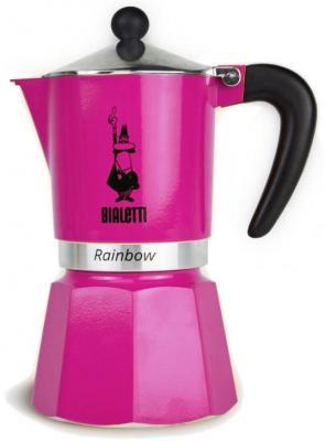 Кофеварка гейзерная Bialetti Rainbow 6 порций алюминий 5013